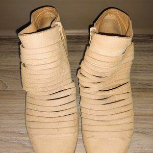 Lucky Brand Zavrina Strap (ankle) Boots Size 8.5